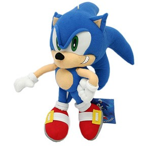 Pelúcia Sonic the Hedgehog