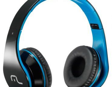 Headphone Multilaser Preto e Azul PH113
