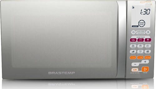Micro-ondas Ative! BMT45 Smart Food 30L Inox – Brastemp